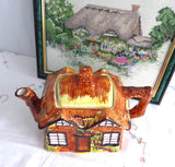 Cottage Ware Teapot Price Kensington Ye Olde Cottage Hand Painted 1960s