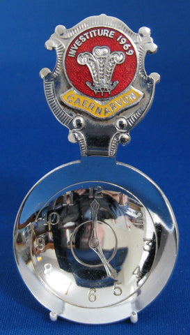 Prince Charles Investiture Tea Caddy Spoon 1969 Royal Tea Scoop Enamel