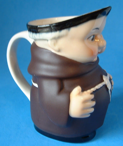 Goebel Friar Tuck Pitcher West Germany Black Shoes Monk 1979-1990
