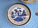 Booths Real Old Willow Tea Pot Stand Teapot Trivet Shortbread Dish 1980s Royal Doulton