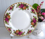 Made In England Royal Albert Old Country Roses Salad Plate 1974-1992 Tea Plate