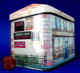 Tea Tin Saunders Victorian Bakery City Of London Museum Shop Tin 1980s