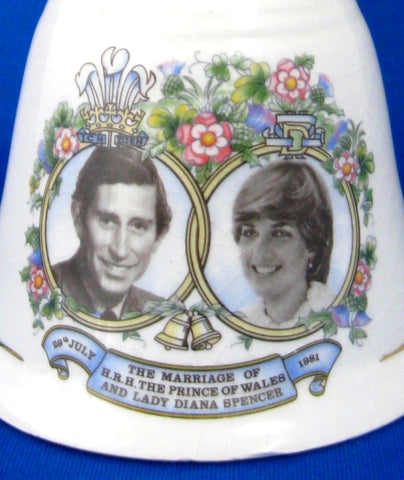 Hostess Bell 1981 Royal Wedding Prince Charles and Princess Diana Di Dinner Bell