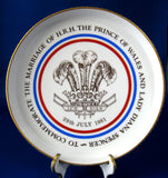 Charles And Diana Royal Wedding 1981 Shortbread Dish MIB Royal Worcester Tart Pan