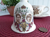 Hostess Bell 1981 Royal Wedding Prince Charles and Princess Diana Di Dinner Bell Masons