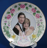 Prince William Birth Plate 1982 Bone China Crown Staffordshire England Royal Commemorative