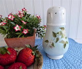 Sugar Shaker Snowberries Sugar Caster Art Pottery Blue And White 1983 Porcelain