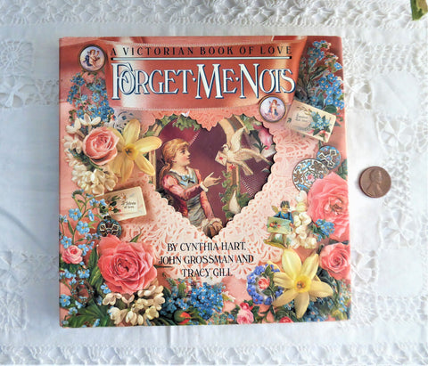 Victorian Book Of Love Forget Me Nots Valentine Traditions 1990 Hardback