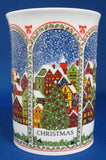 Dunoon Christmas Mug Sue Scullard Snowy English Village Bone China
