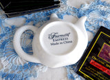 Fairmont Empress Hotel Tea Bag Caddy Figural Teapot Shape Large Tea Bag Holder