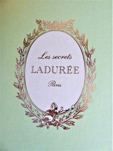 Laudree Paris Hardback Blank Journal 1990s Signature Green Gold Diary
