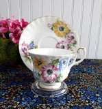 Cup And Saucer Royal Albert Polka Tea Dance Series Bone China Afternoon Tea