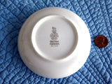6 Butter Pats British Airways First Class Royal Doulton 1980s Royal Dish Teabag Caddy
