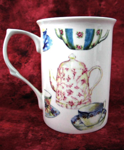 English Afternoon Tea Party Mug English Bone China Teapots Teacups Old Stock