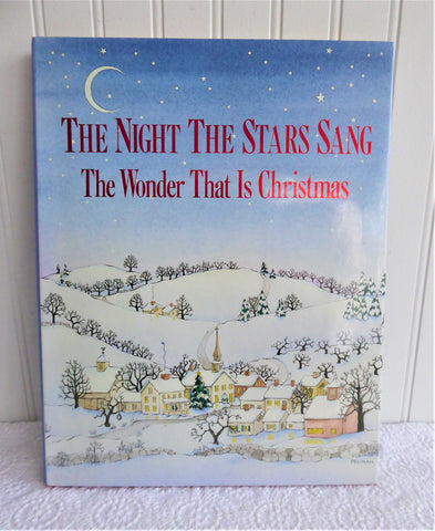 Christmas Book The Night The Stars Sang Christmas Readings Crafts Art 1991 Hardback