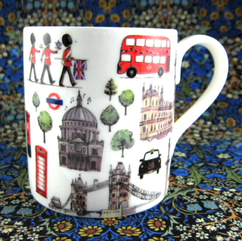 London Icons Mug Whittard Tea English Bone China Royal Tea Party Series