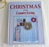 Christmas With Country Living 1997 Book Hardback Color Photos Recipes Crafts