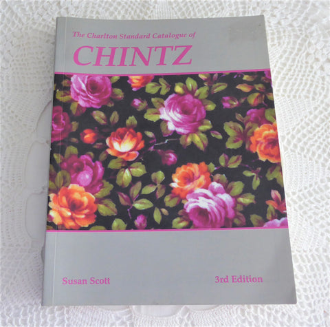 Chintz Collector's Catalog 1999 3rd Edition Charlton Susan Scott Shelley Royal Winton