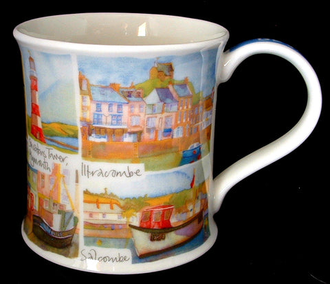 Dunoon Devon Emma Ball Mug English Coastal Villages Devon England