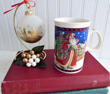 Dunoon Father Christmas Mug 2000 Sue Scullard Santa Claus Stoneware