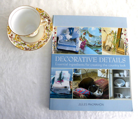 Book Decorative Details The Country Look Coffee Table Large Paperback 2001 MacMahon