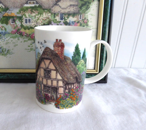 Thatched Cottage Dunoon Mug Cottage Garden Cottage Paths Scullard