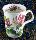 Honeysuckle Mug Roy Kirkham Floral Scents English Bone China New Botanical