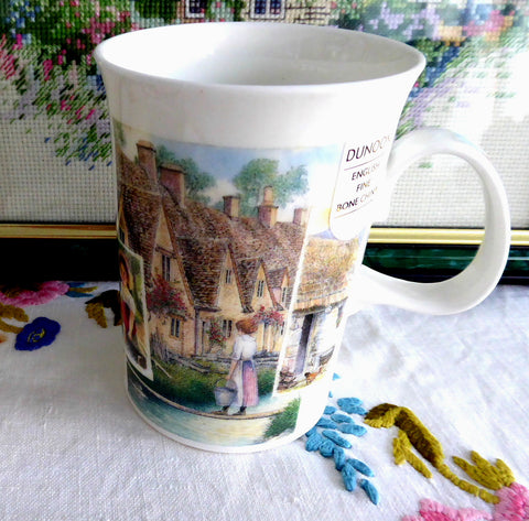 Dunoon Cottage Life Cotswold Stone Village Mug Richard Partis 2007