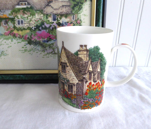 Mug Tea Coffee Stone Cotswolds Cottage In Garden England Cottage Paths Scullard