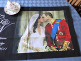 William And Catherine Royal Wedding Balcony Kiss Tea Towel New 2011