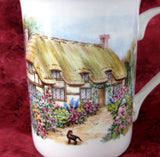Mug English Thatched Cottage Cappers Cottage Anne Hathaways Bone China