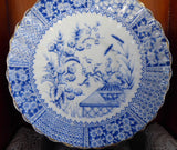 Antique Staffordshire Blue Transferware Aesthetic Cup And Saucer 1880s - Antiques And Teacups - 5
