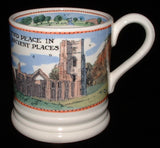 Emma Bridgewater Mug National Trust Countryside Find Peace English Pottery 2005 - Antiques And Teacups - 2