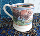Emma Bridgewater Mug National Trust Countryside Find Peace English Pottery 2005 - Antiques And Teacups - 5