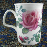 Roy Kirkham Mug English Rose Pink Roses English Bone China - Antiques And Teacups - 3