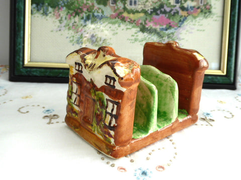 Cottage Ware Toast Rack Price Brothers Vintage 1950s Toast Holder Letters Tea Party - Antiques And Teacups - 1