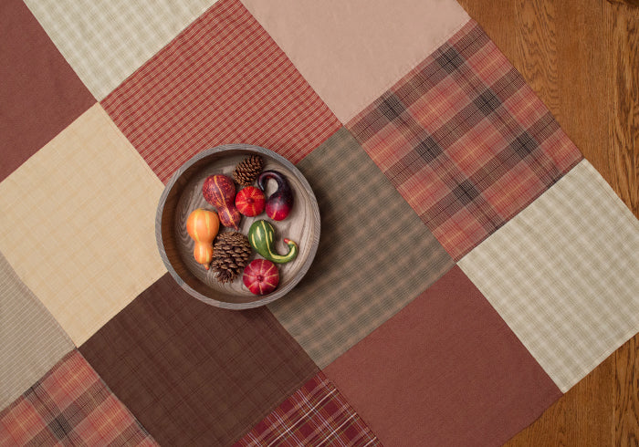 Autumn Plaid Tablecloth