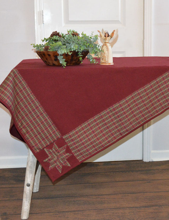 Stars in the Corner Tablecloth by Retro Barn