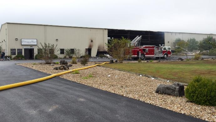 Fire at VHC Brands