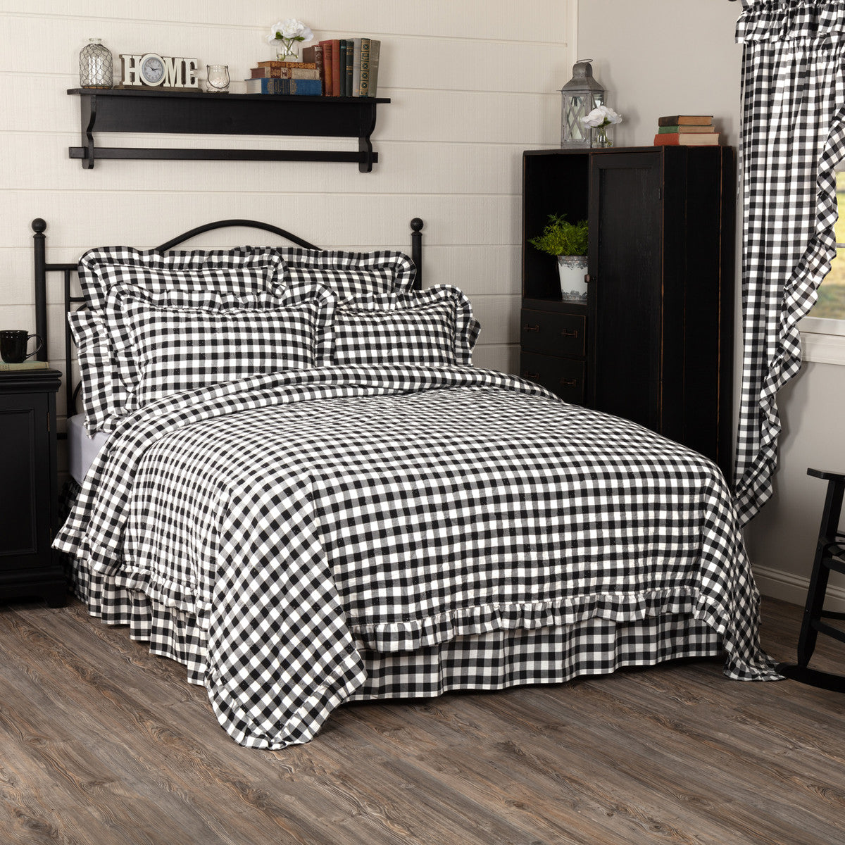 Annie Buffalo Check Coverlet
