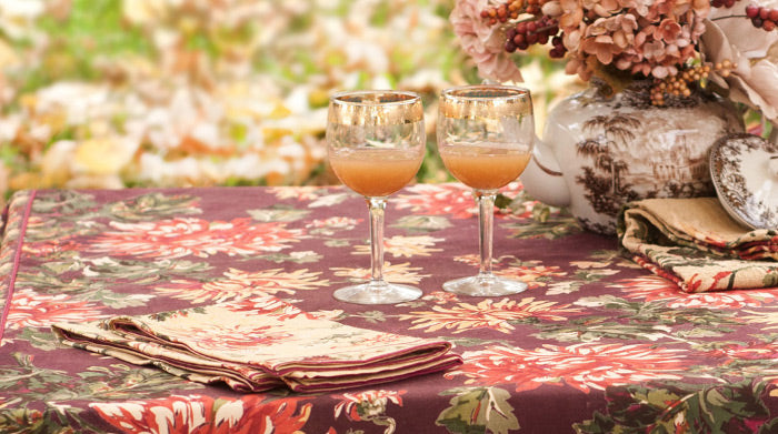 Antoinette Floral Tablecloth