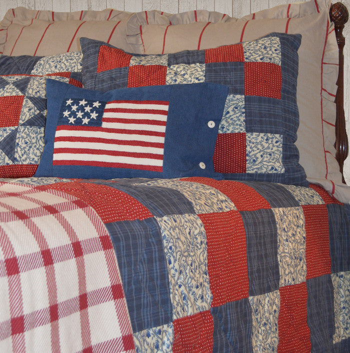 Betsy Americana Patchwork Quilt
