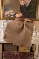 Burlap Natural Runner