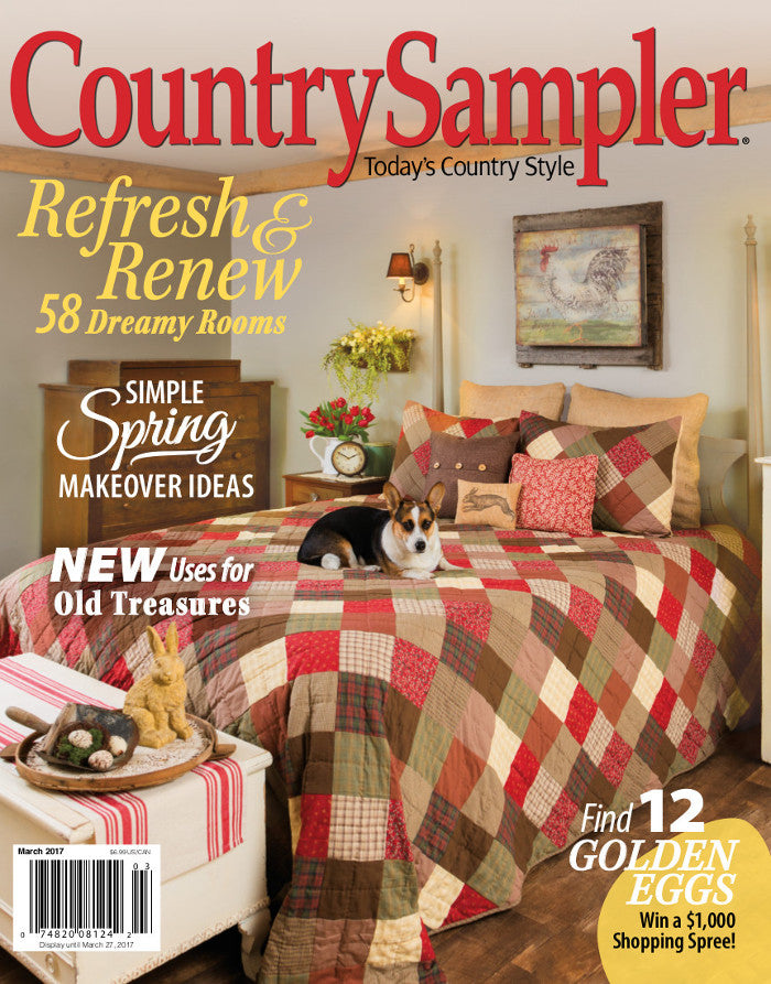 Country Sampler Magazine March 2017