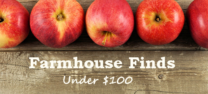 Farmhouse Finds Under $100