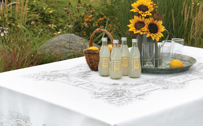 Stupendous Old Fashioned Table Linens Made In The Usa Retro Barn Download Free Architecture Designs Terchretrmadebymaigaardcom