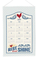 Rise and Shine Calendar Towel