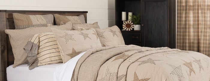 New Sawyer Mill Star Bedding
