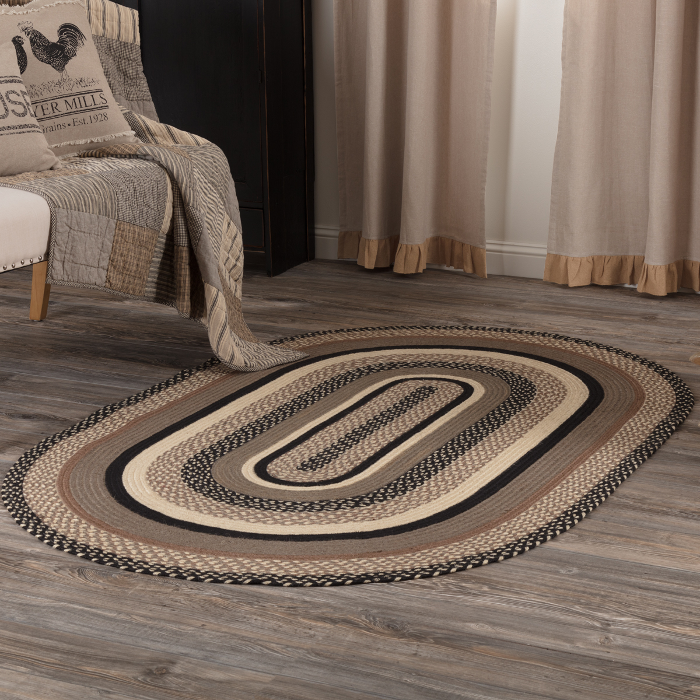 Sawyer Mill Oval Braided Rug