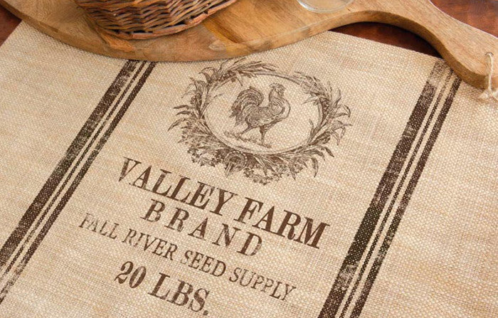 Homestead Seed Label Placemats